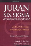 Juran Institute's Six Sigma: Breakthrough and Beyond : Quality Performance Breakthrough Methods